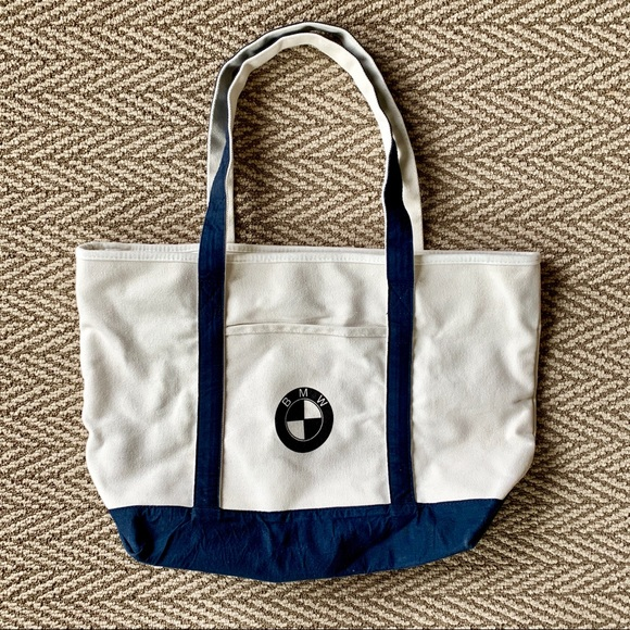 BMW Bags   Large Canvas Tote Bag   Poshmark f3130c2c01